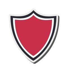 shield emblem icon vector image