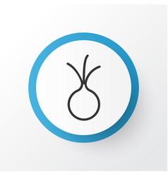 onion icon symbol premium quality isolated garlic vector image