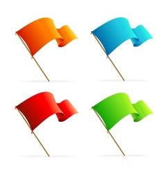 Set of flags Icons vector image vector image