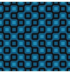 blue tile seamless vector image