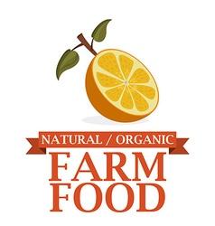 Farm Food design vector image
