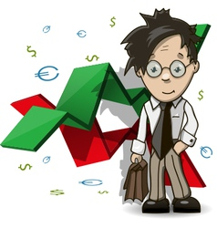 Financial Analyst vector