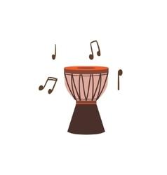 National brazilian drum vector