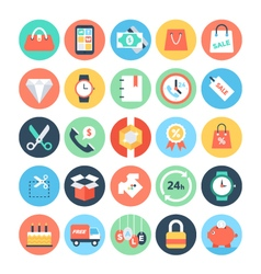 Shopping Icons 1 vector