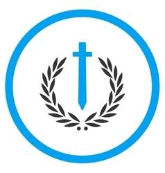 Sword Honor Embleme Icon vector image
