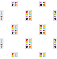 Watercolor pattern seamless vector