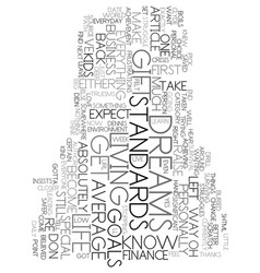 you can get there from here text word cloud vector image
