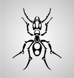 Tribal Ant vector image vector image