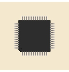 A microcontroller CPU Processor vector