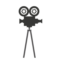 Camera video film isolated icon vector