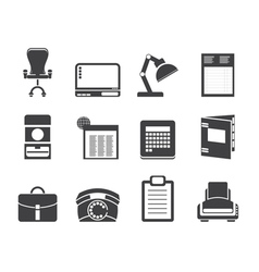 Office and firm icons vector