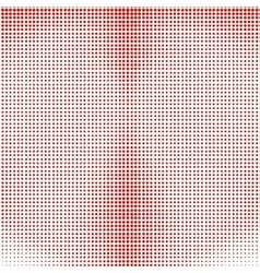 Red Halftone Background vector