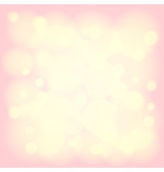 shiny background with bokeh vector image vector image