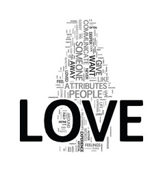 you can have love that never ends text word cloud vector image
