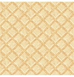 Crisp waffles pattern vector image vector image