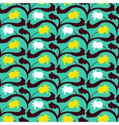 Suzani pattern with uzbek and kazakh motifs vector