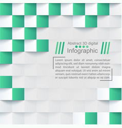 Abstrack paper background - origami template vector