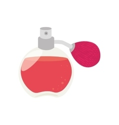 Fragrance aroma bottle scent isolated vector