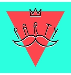 Party Handdrawn Poster 4 vector
