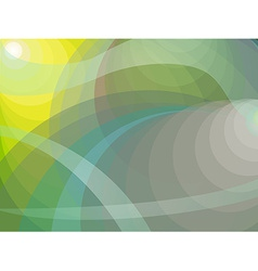 Shades of yellow green and grey background vector