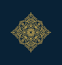 arabic style decorative element vector image vector image