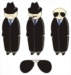 inspector detective vector image vector image