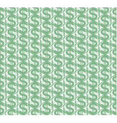 abstract dollar symbol pattern vector image