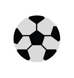 soccer ball ilustratio vector image