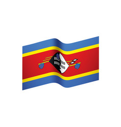 Swaziland flag vector