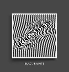 waveform background surface distortion pattern vector image
