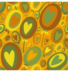 Colorful Balloons seamless pattern vector image