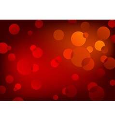 red glowing background vector image