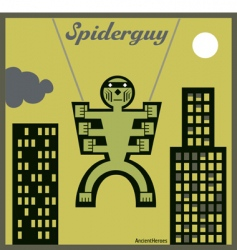 spider guy vector image vector image