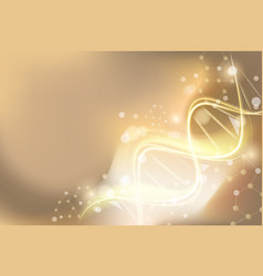 background on medical subjects with spiral dna vector image