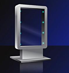 bilbord vector image