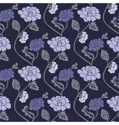 Blossom pattern vector
