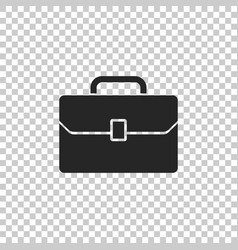 briefcase icon isolated on transparent background vector image
