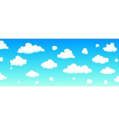 Cartoon Sky Background vector image