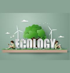 Eco and environment concept vector