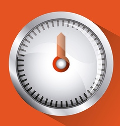 Gauge design vector image
