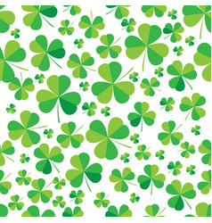 Patrick clover seamless bright background vector