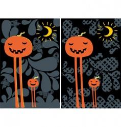 pumpkin converted vector image