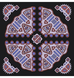 Tribal ethnic ornament vector