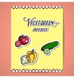 VegetablesMenu2 vector