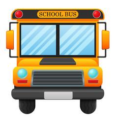 a school bus vector image