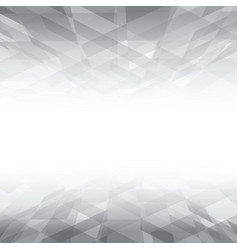 abstract white and grey geometric texture vector image