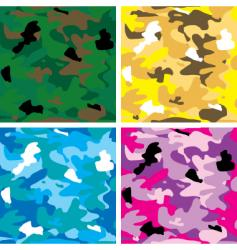 Camouflage tile vector