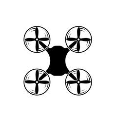 Copter icon quadcopter vector