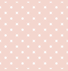 cute vintage seamless pattern in pastel colors vector image