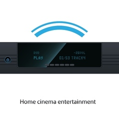 HD Media Player vector